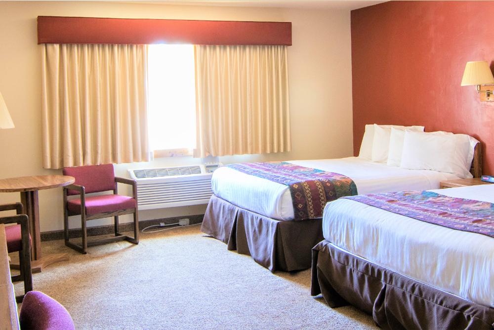 double queen room hotel